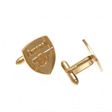 Arsenal Gold Plated Cufflinks